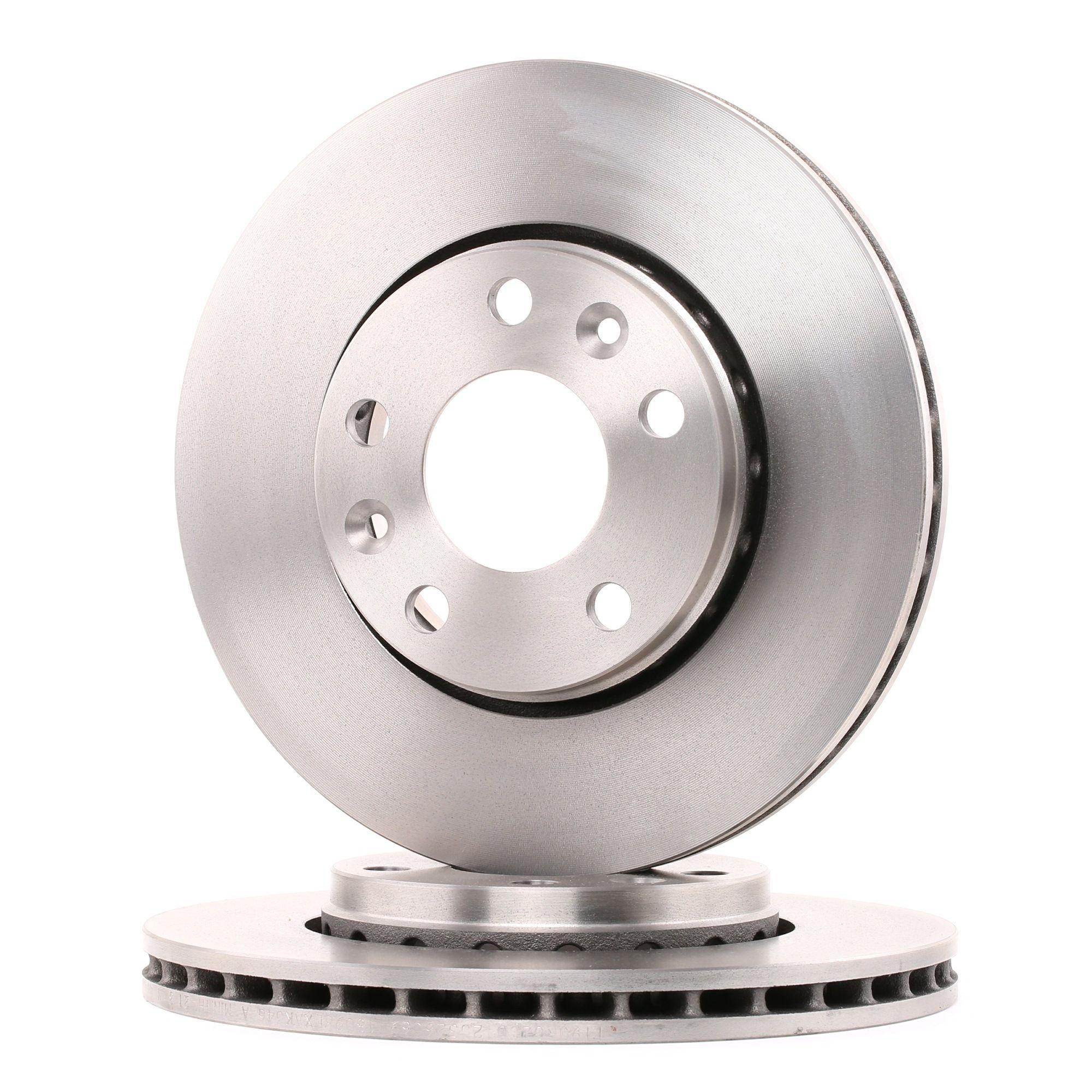 Acquistare ricambi originali BREMBO Disco freno 09.A727.14
