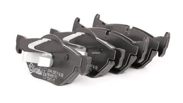 BREMBO Sada brzdových platničiek kotúčovej brzdy P 06 038