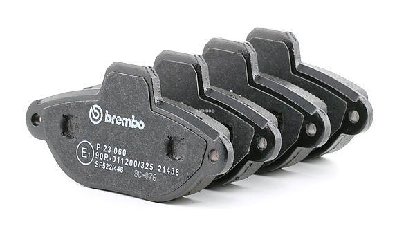 BREMBO Bremsbelagsatz, Scheibenbremse P 23 060 - Rabatt 19%