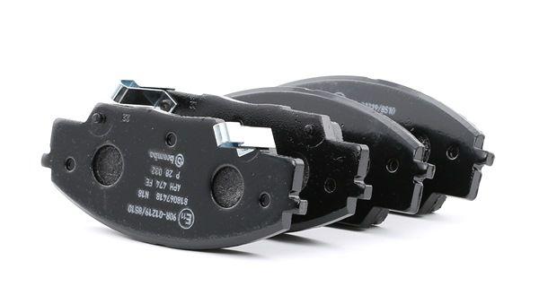 BREMBO: Original Bremsbelagsatz P 28 032 (Höhe: 52,4mm, Breite: 135,5mm, Dicke/Stärke: 16mm)