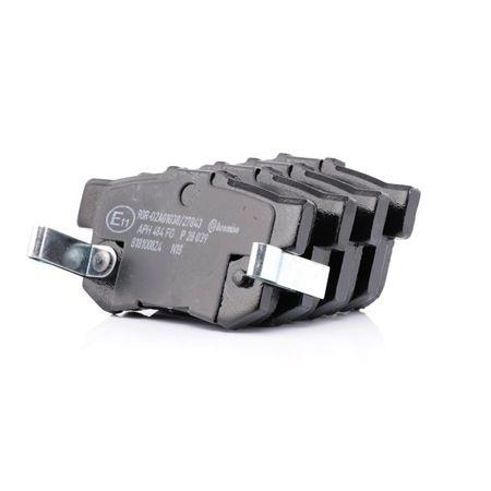 H4302S3N003 DISC BRAKE PAD SET RR AN 492WK 43022 SV4 E50 43022