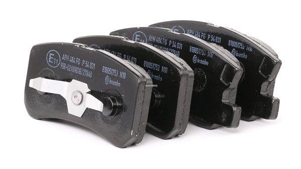 Bremsbelagsatz, Scheibenbremse P 54 031 JEEP günstige Preise - Jetzt zugreifen!