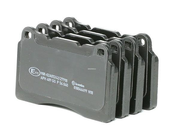 BREMBO: Original Bremssystem P 54 040 (Höhe: 77,2mm, Breite: 131,6mm, Dicke/Stärke: 16mm)
