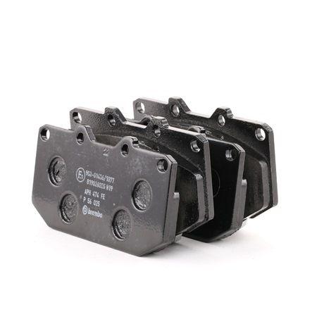 Brembo Brake Pads >> Brembo Brake Pad Set Disc Brake