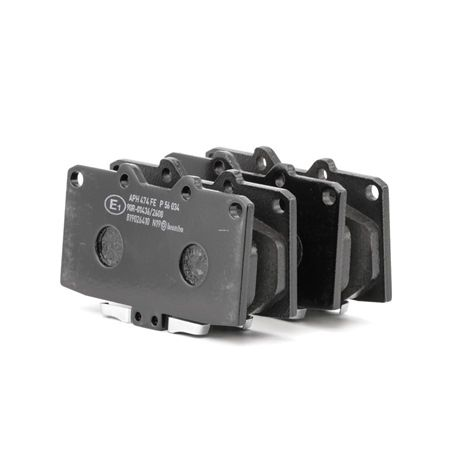 BREMBO: Original Tuning P 56 034 (Höhe: 70mm, Breite: 119,2mm, Dicke/Stärke: 15mm) mit vorteilhaften Preis-Leistungs-Verhältnis
