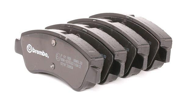 Kit de plaquettes de frein, frein à disque P 61 066 CITROËN C3 à prix réduit — achetez maintenant!
