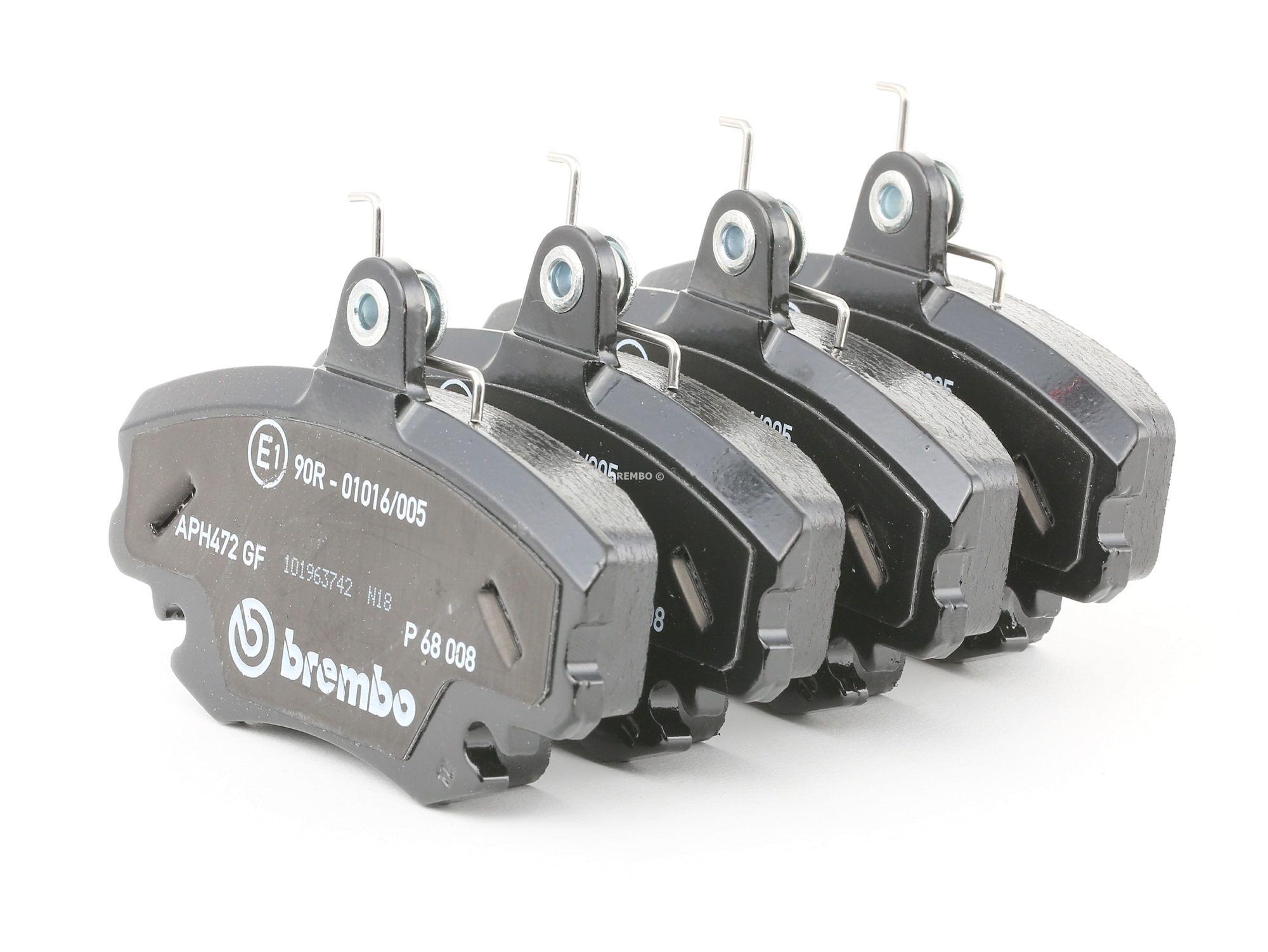 Buy original Brake pads BREMBO P 68 008