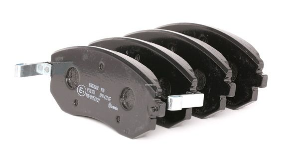 7880D929 BREMBO med akustisk slitagevarnare H: 56,8mm, B: 137,1mm, Tjocklek: 16,4mm Bromsbeläggssats, skivbroms P 78 013 köp lågt pris