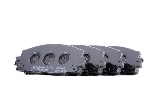 Bremsbelagsatz, Scheibenbremse P 83 086 — aktuelle Top OE 35011-40G08 Ersatzteile-Angebote