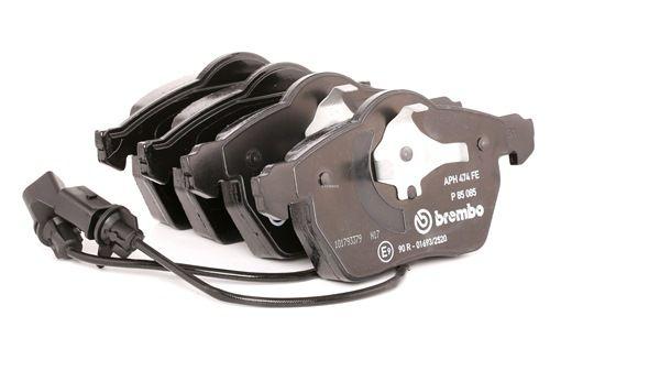 BREMBO Kit de plaquettes de frein, frein à disque P 85 085