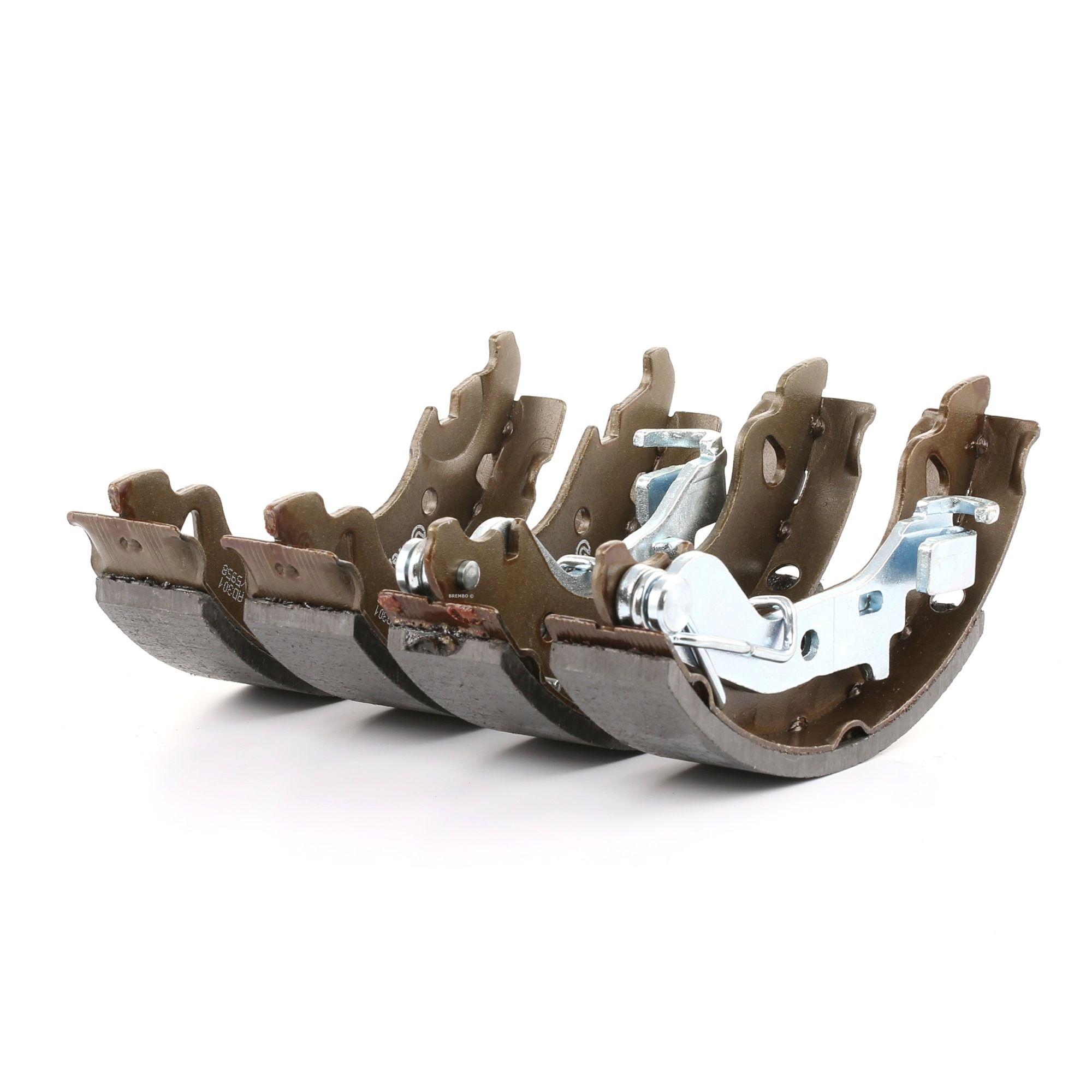 Original PORSCHE Bremsklötze für Trommelbremse S 23 521
