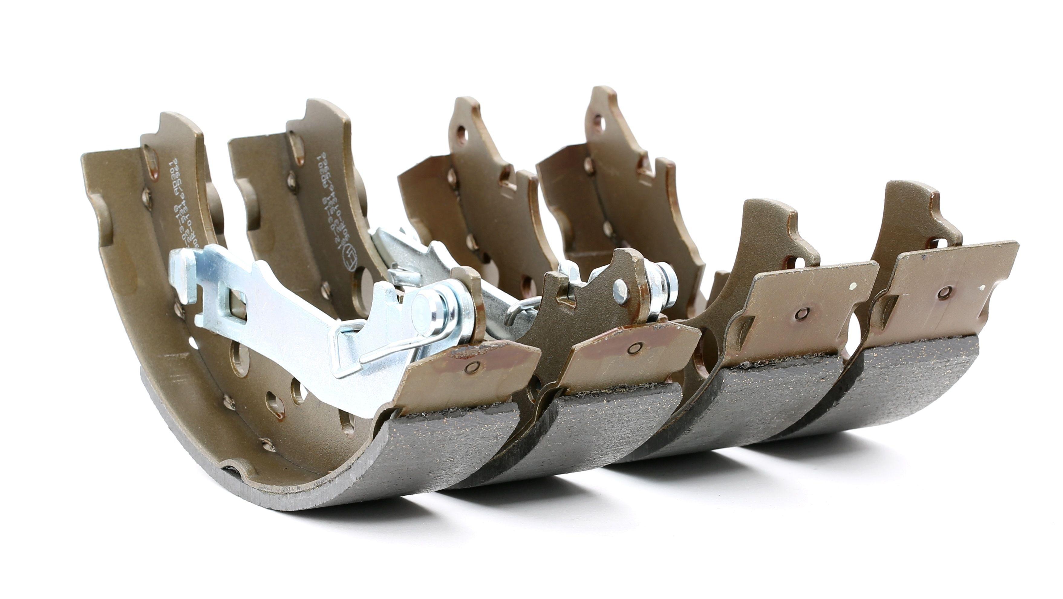 BREMBO: Original Bremsklötze für Trommelbremse S 23 531 (Breite: 42mm)