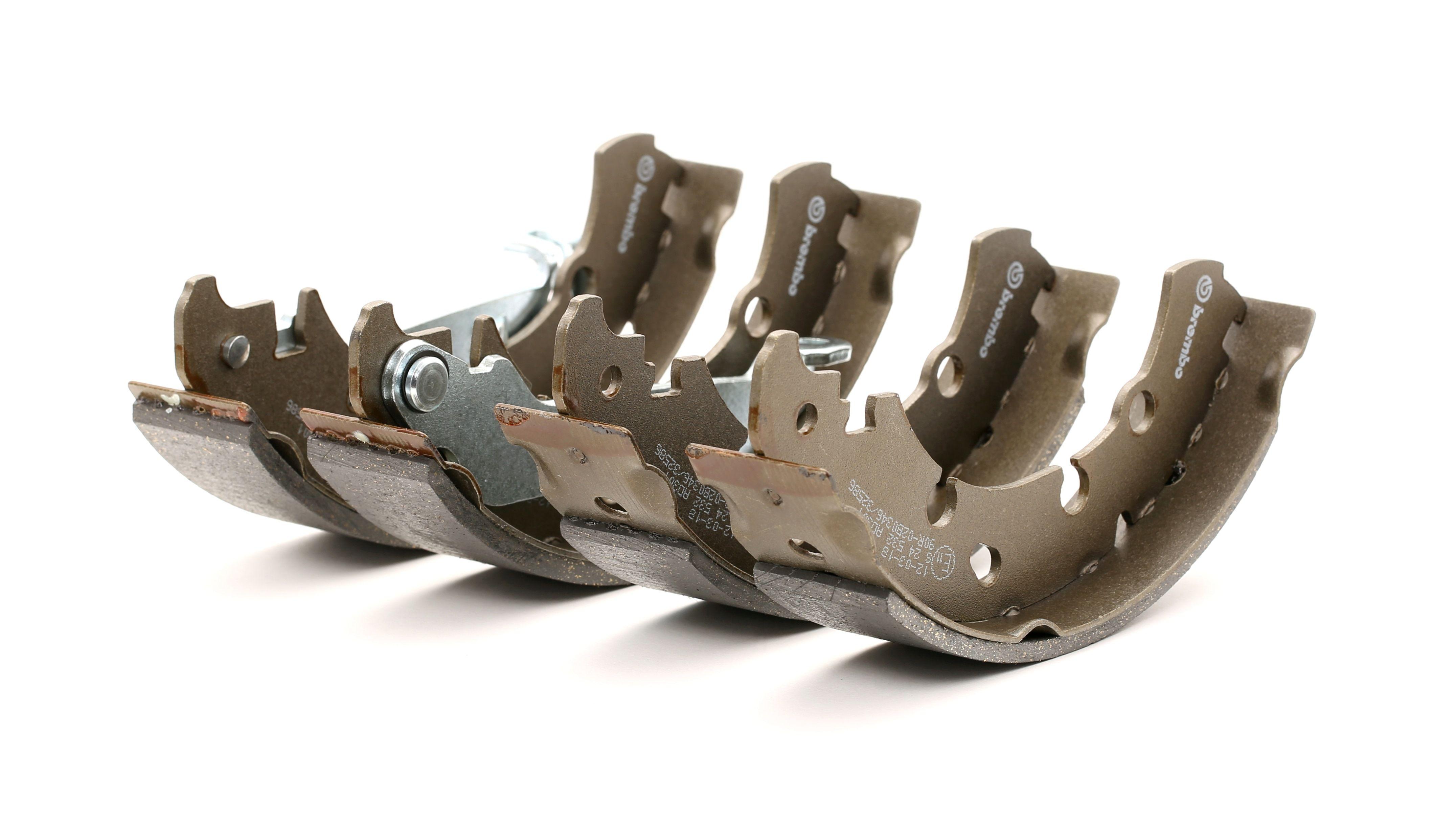 Original PORSCHE Bremsbacken für Trommelbremse S 24 532