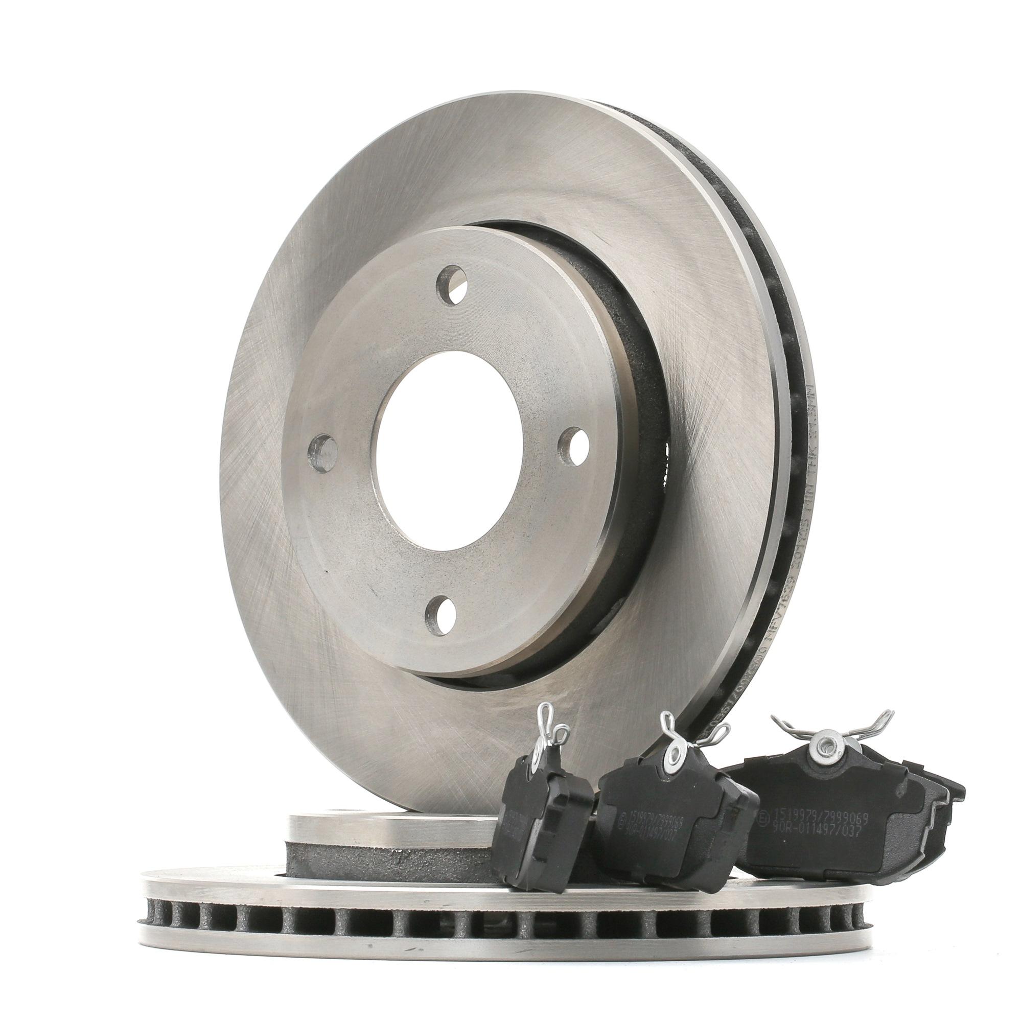 RIDEX: Original Bremsen Set 3405B1013 ()