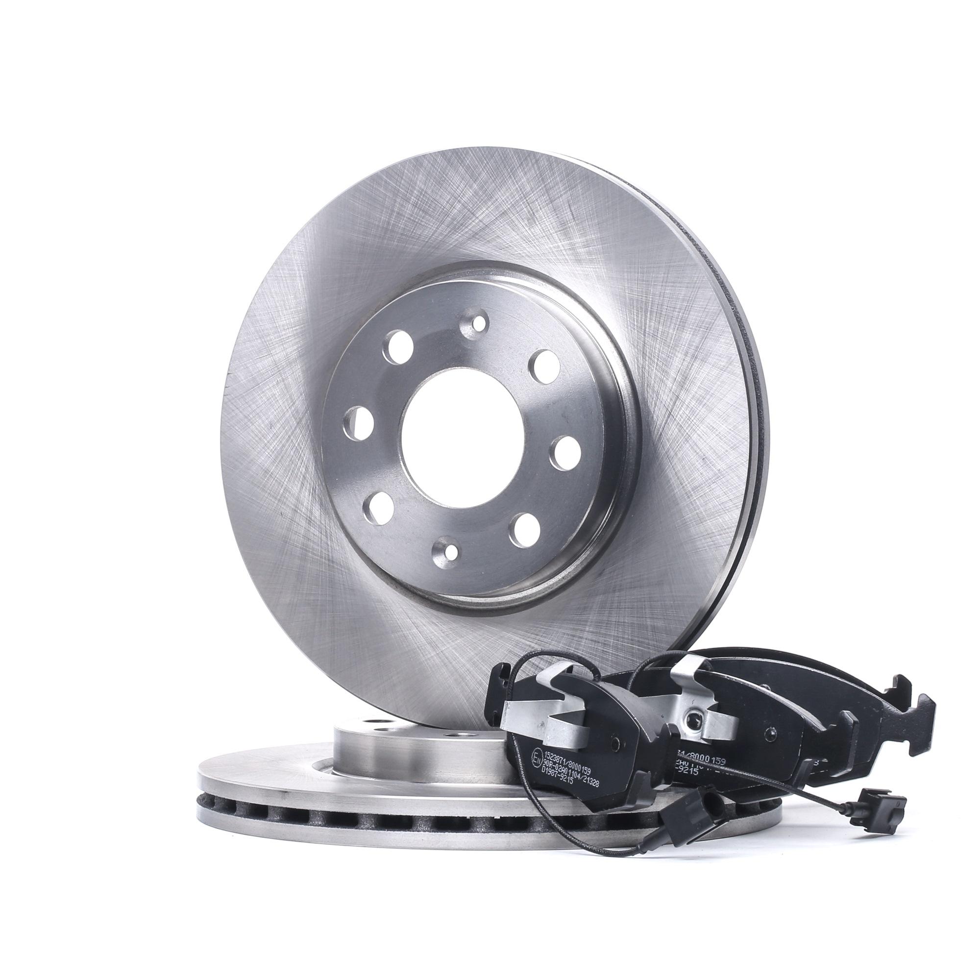 RIDEX: Original Bremsscheiben und Bremsbeläge 3405B1064 (Bremsscheibendicke: 22,0mm)