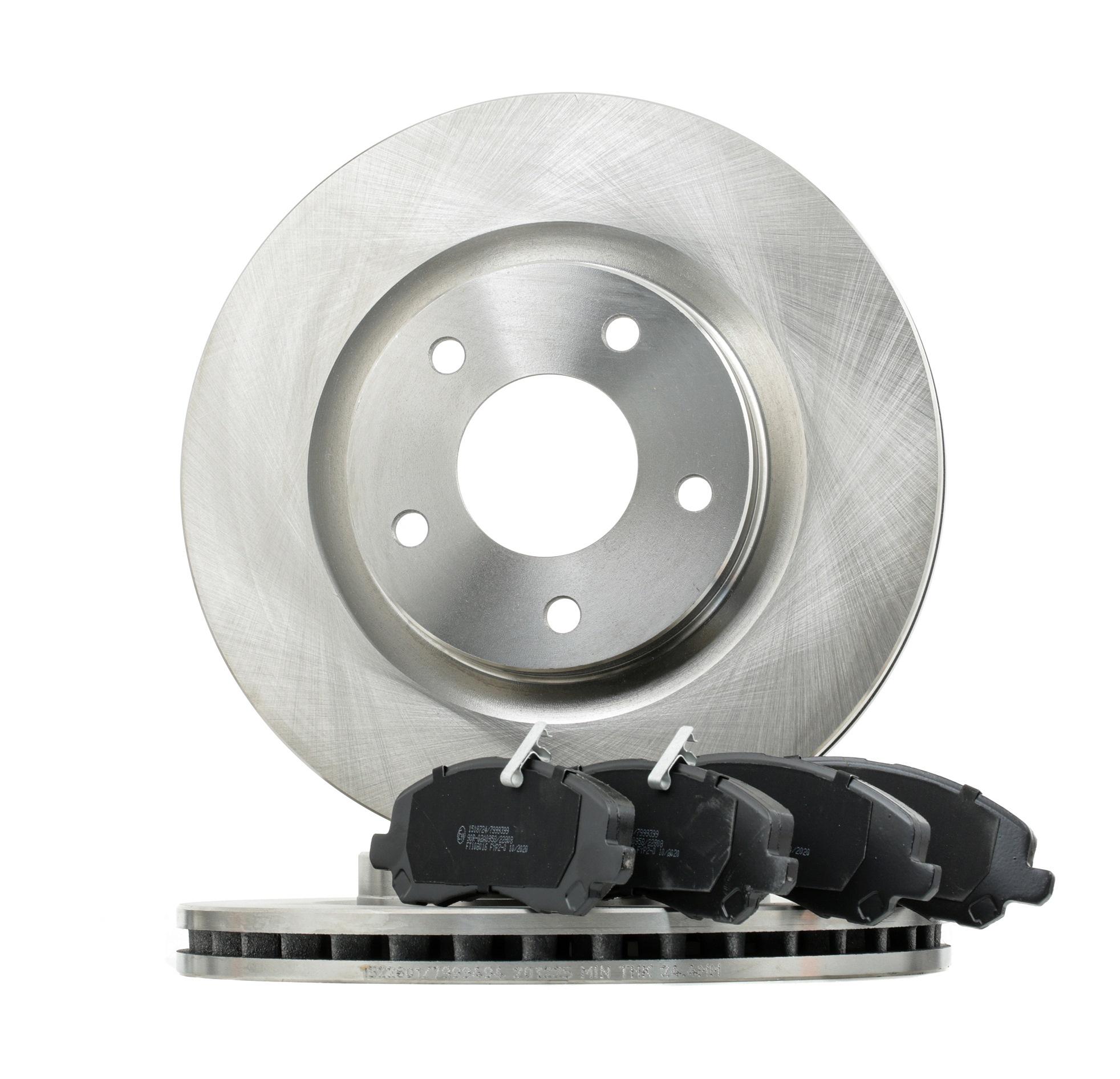 JEEP WILLYS Bremsscheiben und Beläge - Original RIDEX 3405B1162 Ø: 294mm, Bremsscheibendicke: 26mm