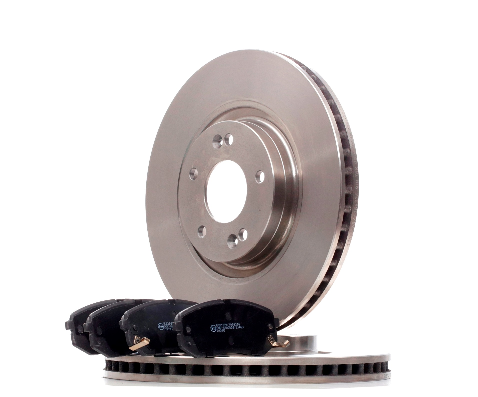 RIDEX: Original Bremsscheiben und Bremsbeläge 3405B1315 ()