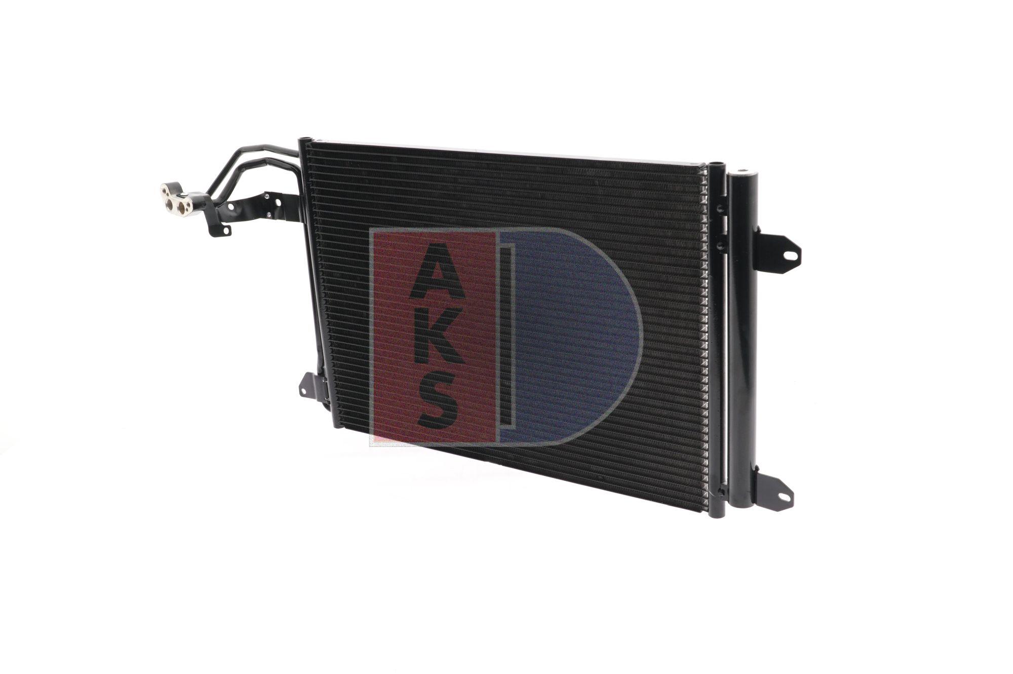 AKS DASIS: Original Klimakühler 042008N (Netzmaße: 535x388x16)