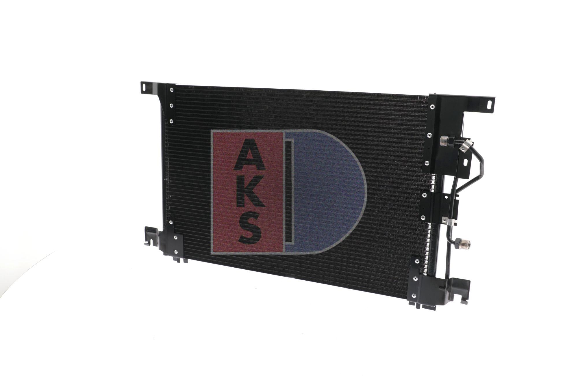 AKS DASIS Kondensor, klimatanläggning till MERCEDES-BENZ - artikelnummer: 132450N