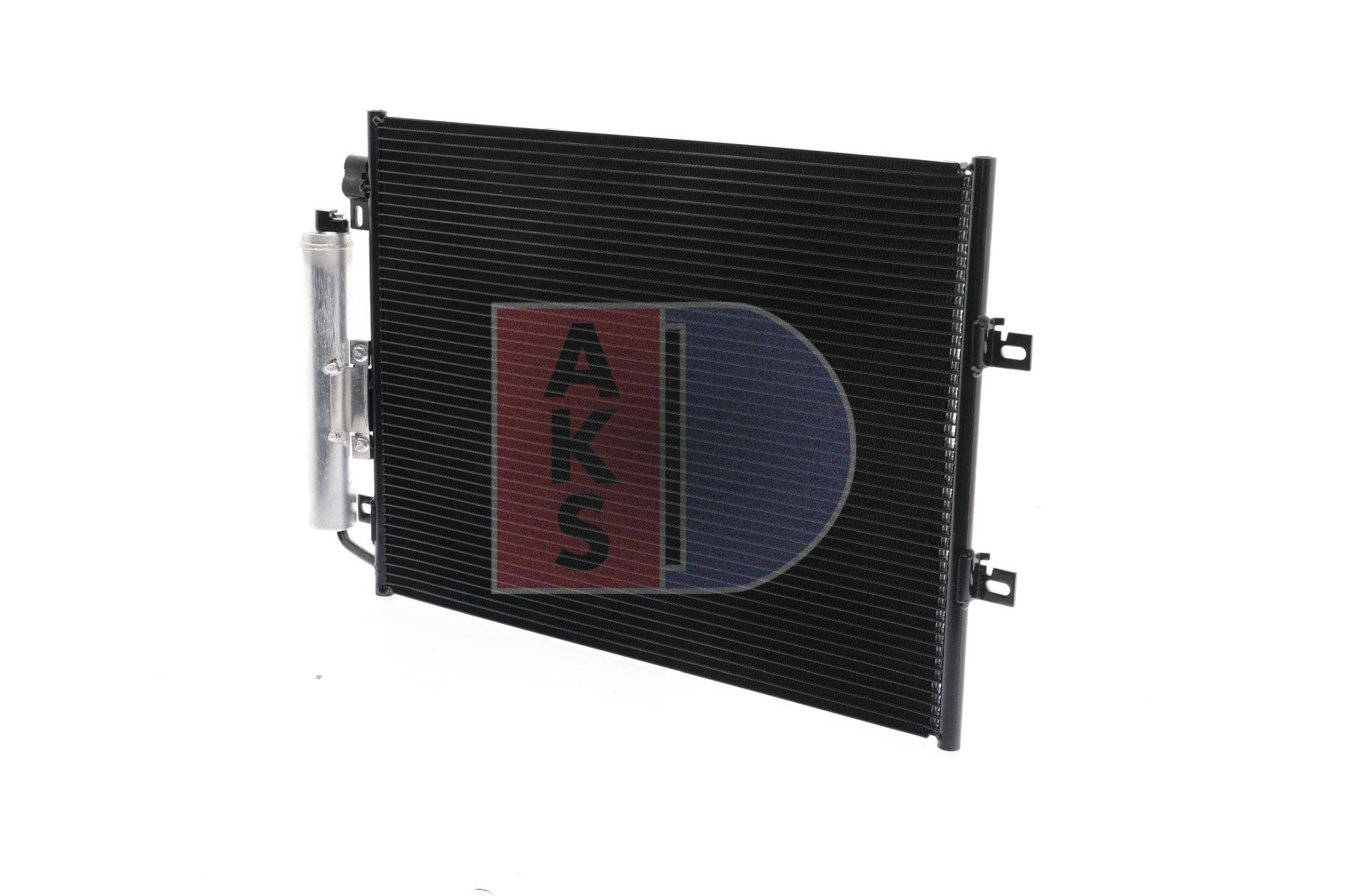 RENAULT TWINGO 2020 Klimakühler - Original AKS DASIS 182043N Netzmaße: 510x398x12
