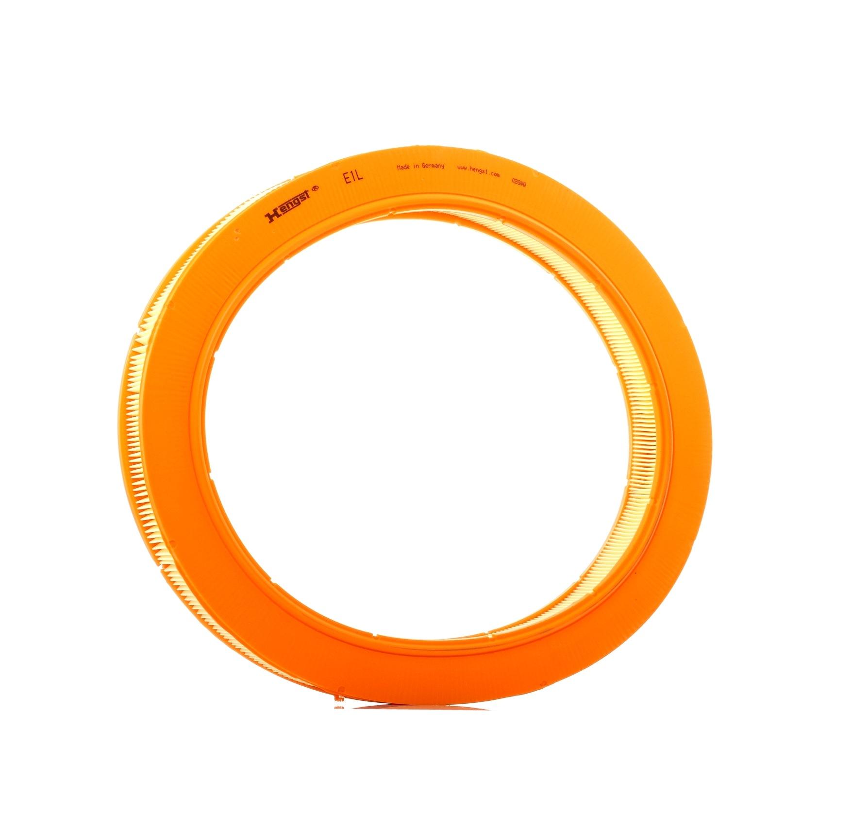 Въздушен филтър E1L с добро HENGST FILTER съотношение цена-качество