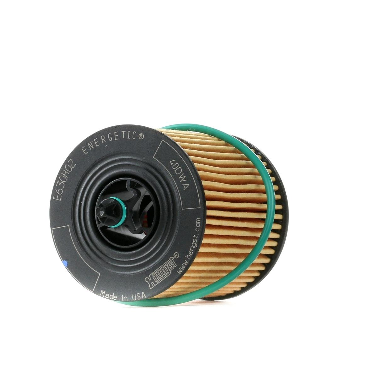 HENGST FILTER: Original Ölfilter E630H02 D103 (Innendurchmesser 2: 24mm, Innendurchmesser 2: 35mm, Ø: 63mm, Höhe: 91mm)
