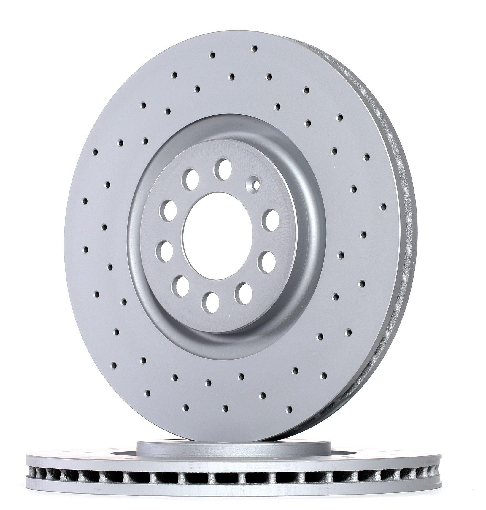 Achetez Disque ZIMMERMANN 100.1240.52 (Ø: 312mm, Jante: 5Trou, Épaisseur du disque de frein: 25mm) à un rapport qualité-prix exceptionnel