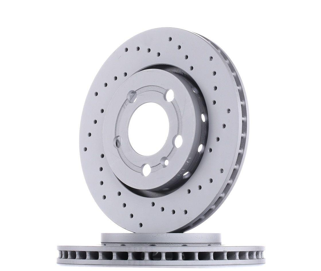 ZIMMERMANN Disc Brakes VW,AUDI,SKODA 100.1241.52 8N0615601B Brake Rotors,Brake Discs,Disk Brakes,Brake Disc