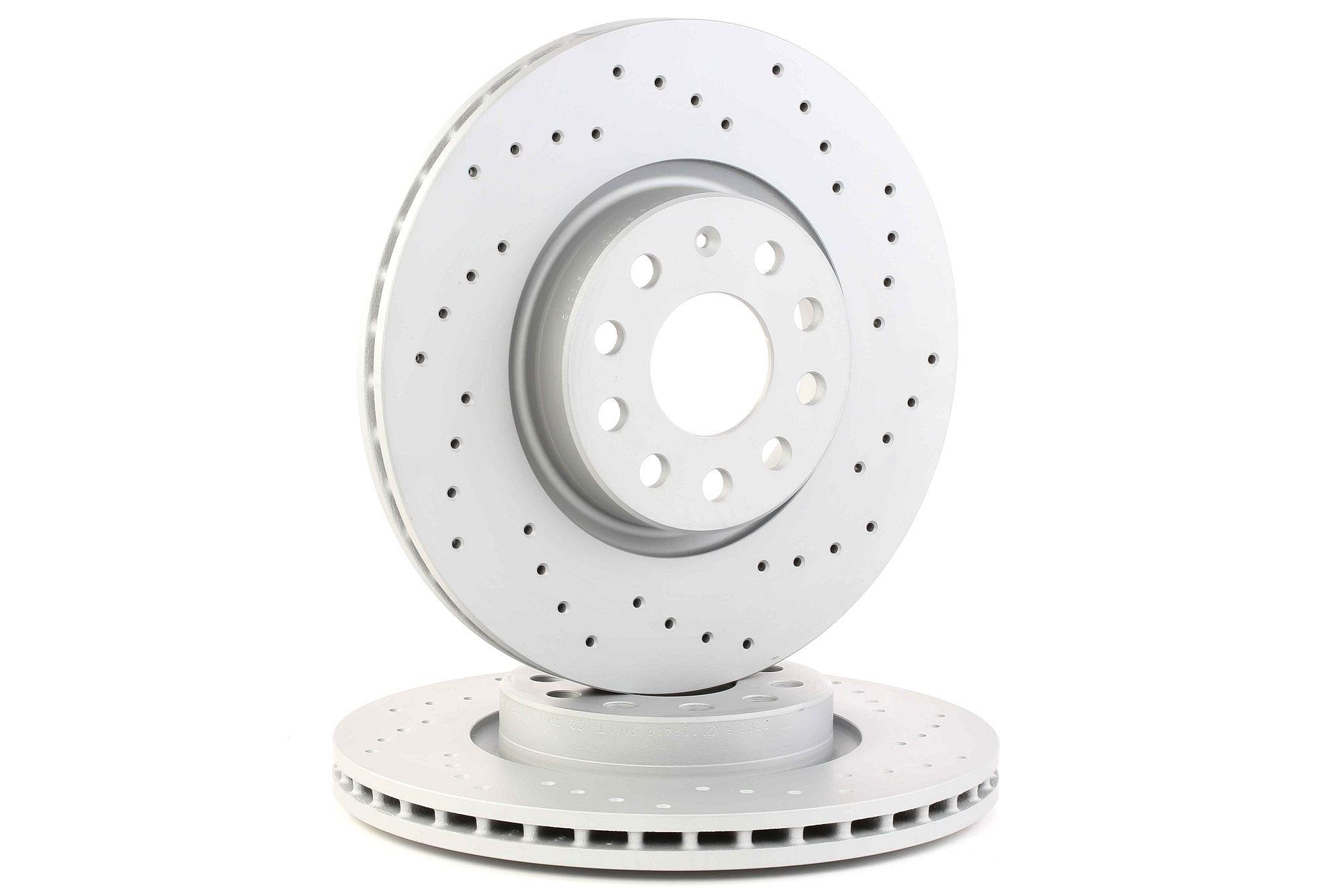 Achetez Disque ZIMMERMANN 100.3300.52 (Ø: 312mm, Jante: 5Trou, Épaisseur du disque de frein: 25mm) à un rapport qualité-prix exceptionnel