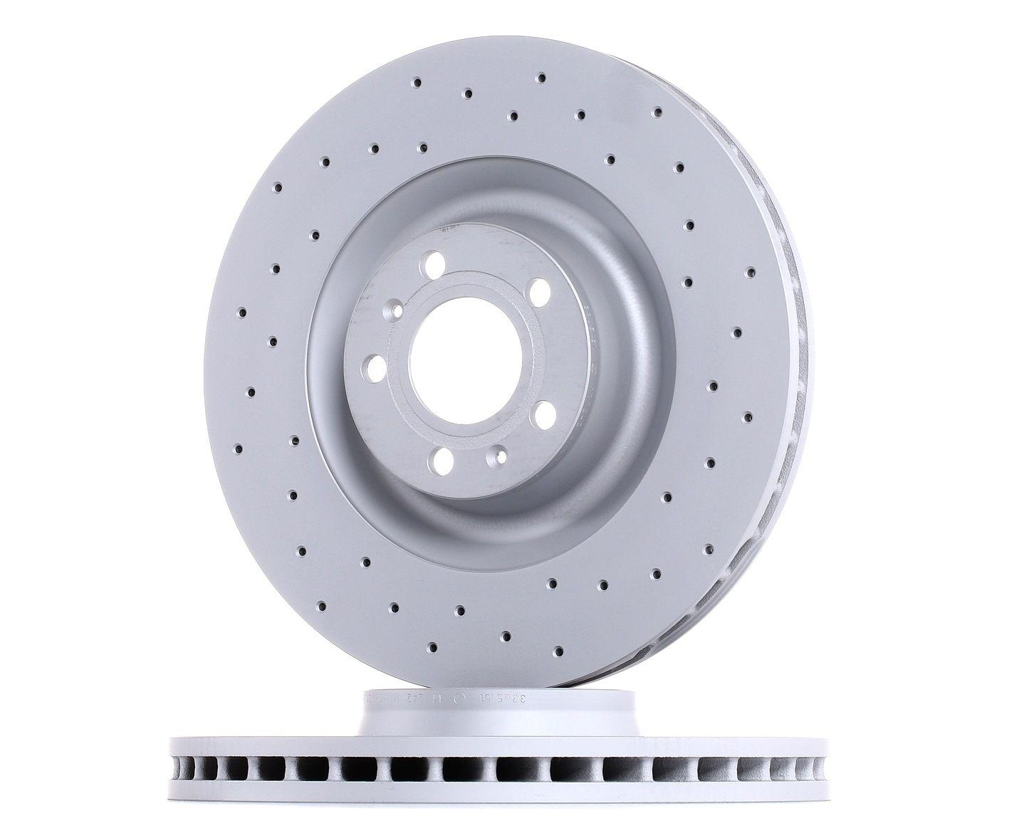 ZIMMERMANN Disc Brakes VW,AUDI 100.3305.52 4E0615301P,4E0615301P Brake Rotors,Brake Discs,Disk Brakes,Brake Disc
