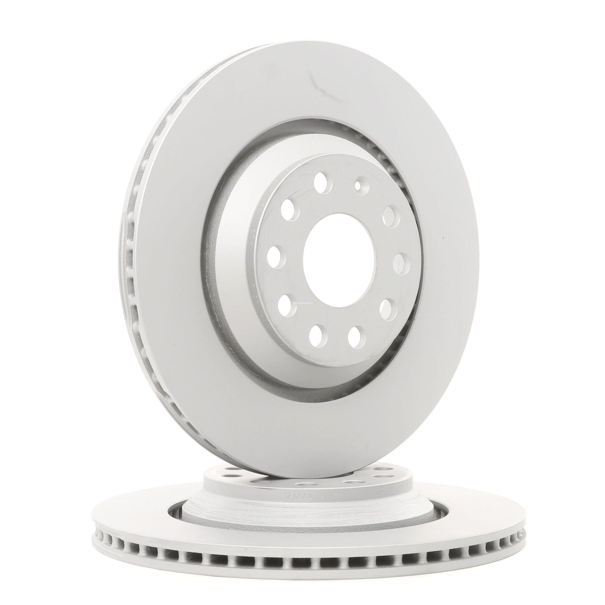 ZIMMERMANN Disc Brakes VW,AUDI,SKODA 100.3309.20 1K0615601N,5Q0615601E,1K0615601N Brake Rotors,Brake Discs,Disk Brakes,Brake Disc 5Q0615601E