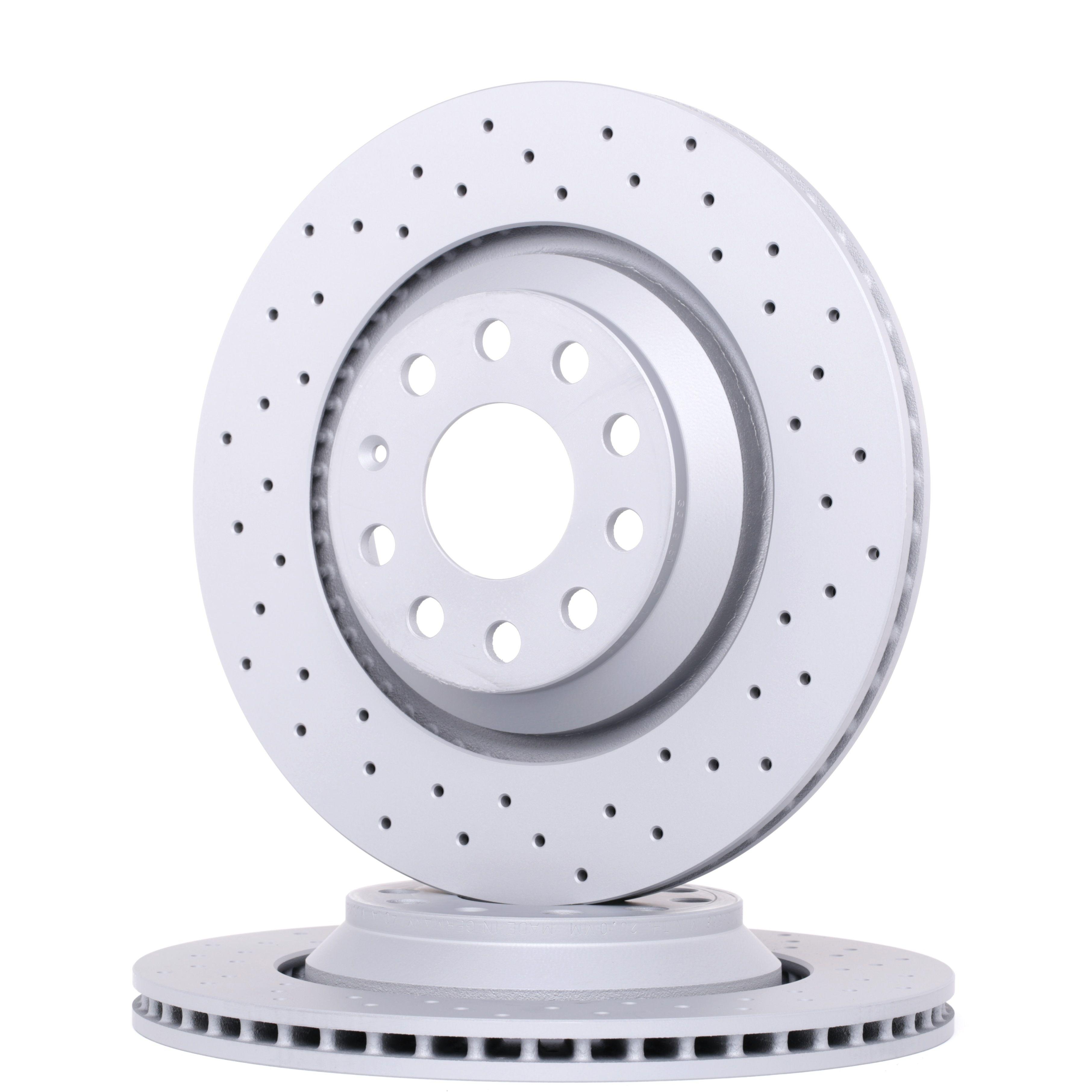ZIMMERMANN Disc Brakes VW,AUDI,SKODA 100.3309.52 1K0615601N,5Q0615601E,1K0615601N Brake Rotors,Brake Discs,Disk Brakes,Brake Disc 5Q0615601E