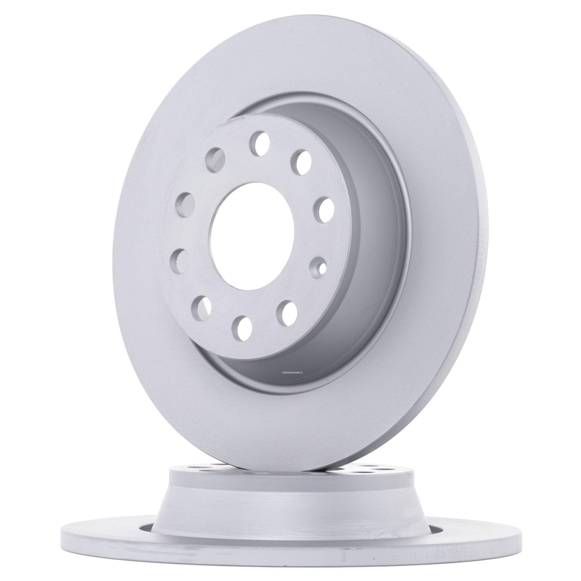 ZIMMERMANN Disc Brakes VW,AUDI,SKODA 100.3315.20 1K0615601AD,5Q0615601G,1K0615601AD Brake Rotors,Brake Discs,Disk Brakes,Brake Disc 5Q0615601G