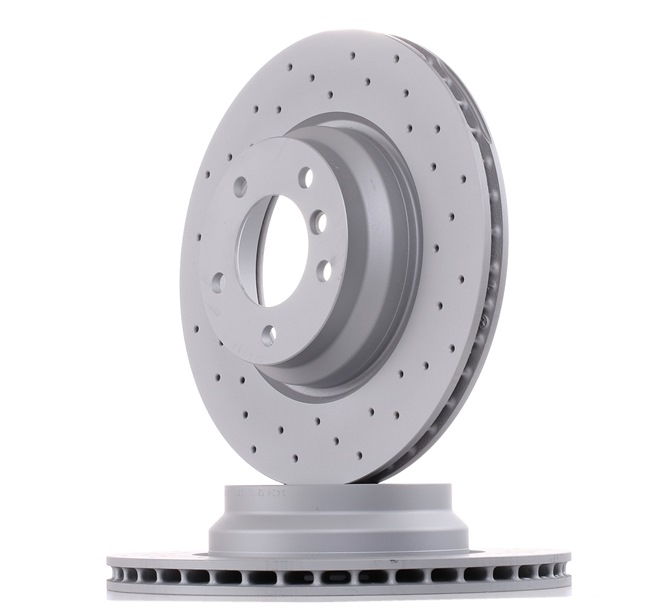 Комплект спирачни дискове 150.3428.52 ZIMMERMANN — само нови детайли