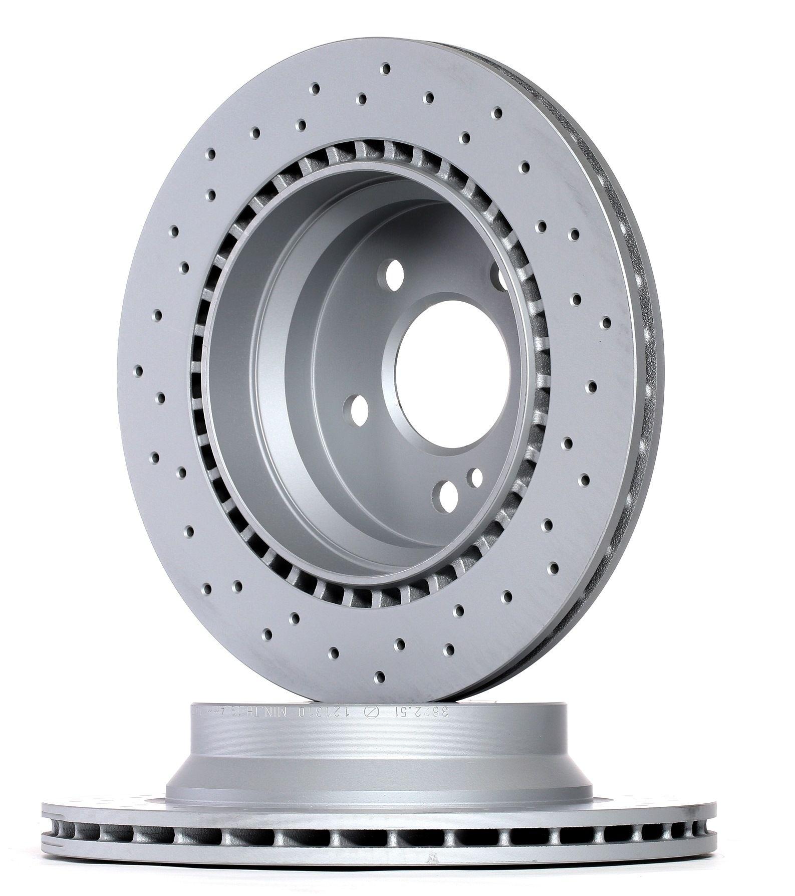 Origine Disque ZIMMERMANN 400.3622.52 (Ø: 300mm, Jante: 5Trou, Épaisseur du disque de frein: 22mm)
