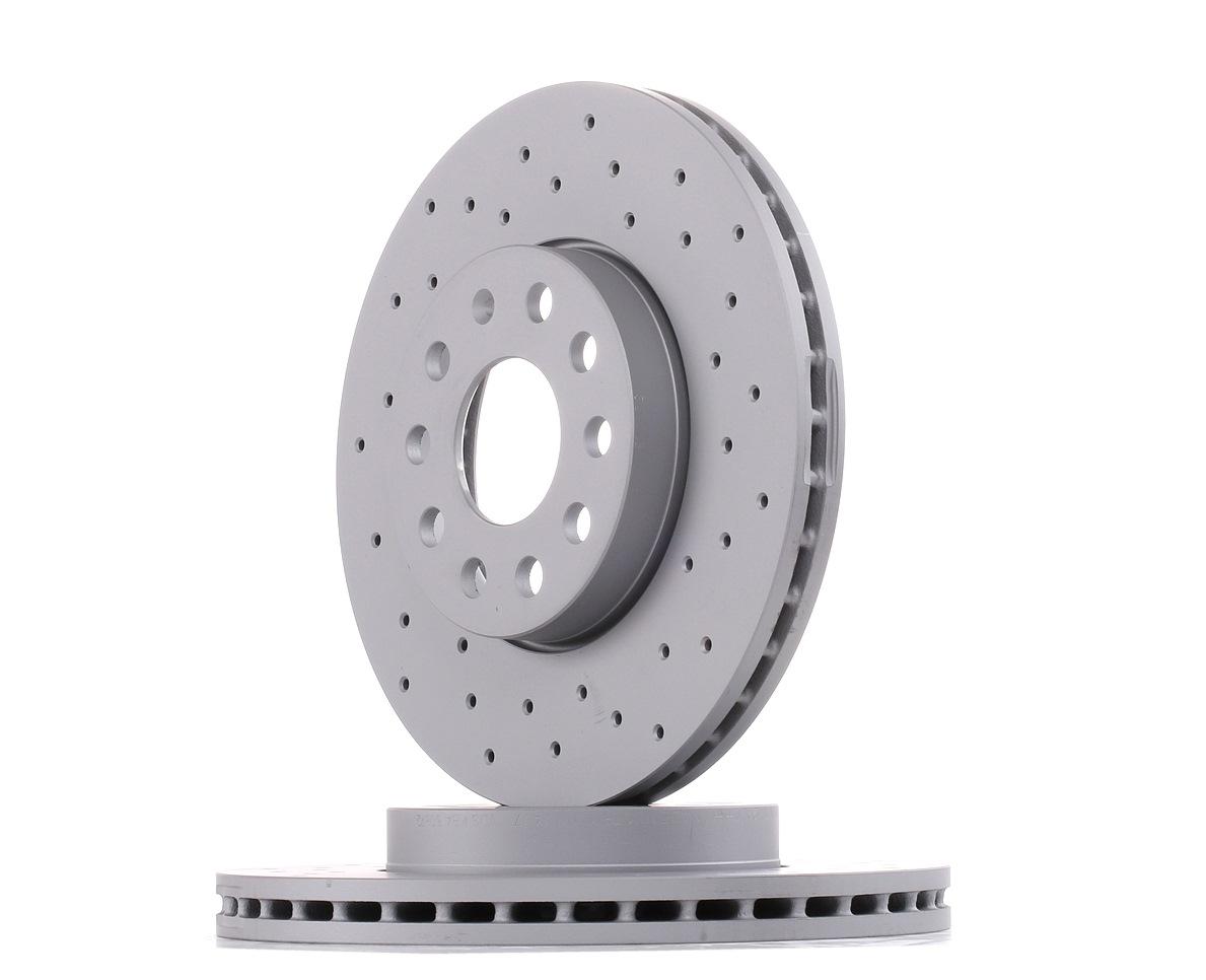 Achetez Disque ZIMMERMANN 600.3221.52 (Ø: 288mm, Jante: 5Trou, Épaisseur du disque de frein: 25mm) à un rapport qualité-prix exceptionnel