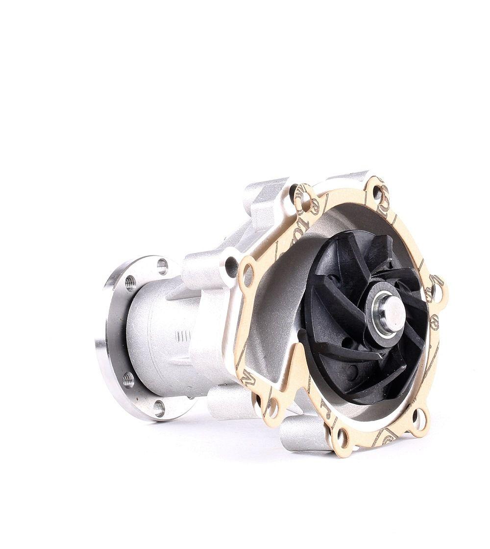 Køb 01663 FEBI BILSTEIN Aluminiumsstøbning, med kontroldel, med pakning Vandpumpe 01663 billige
