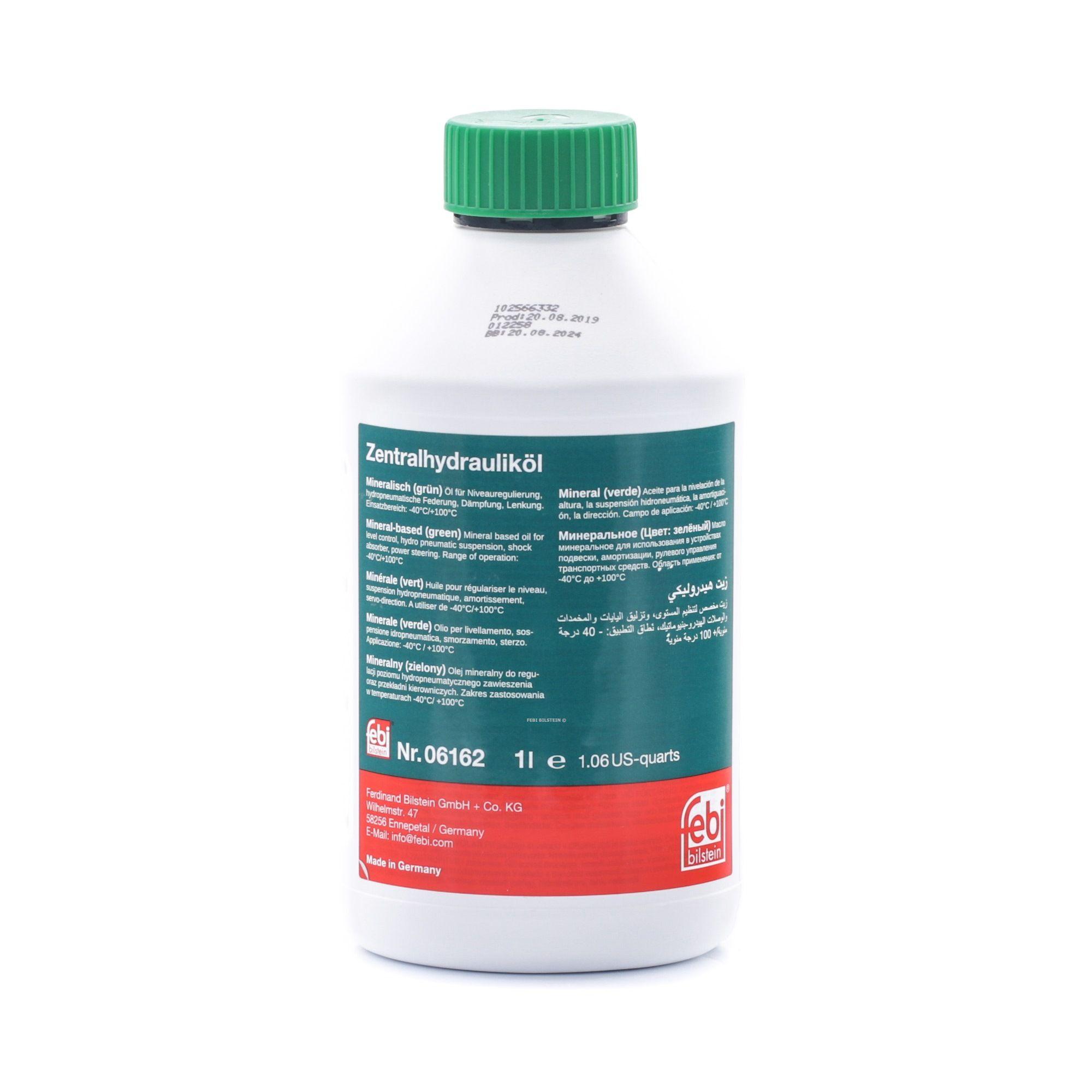 Aceite hidráulico 06162 comprar ¡24 horas al día