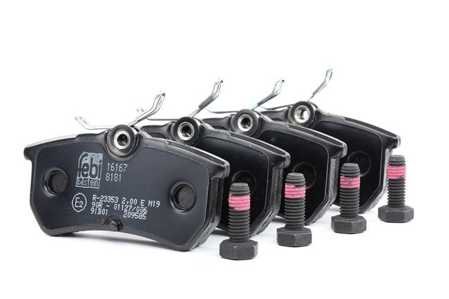 Комплект спирачно феродо, дискови спирачки 16167 Focus Mk1 Хечбек (DAW, DBW) 1.6 16V 100 К.С. оферта за оригинални резервни части