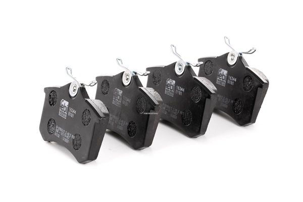 20961 FEBI BILSTEIN Hinterachse, exkl. Verschleißwarnkontakt Breite: 52,9mm, Dicke/Stärke 1: 17mm Bremsbelagsatz, Scheibenbremse 16344 günstig kaufen