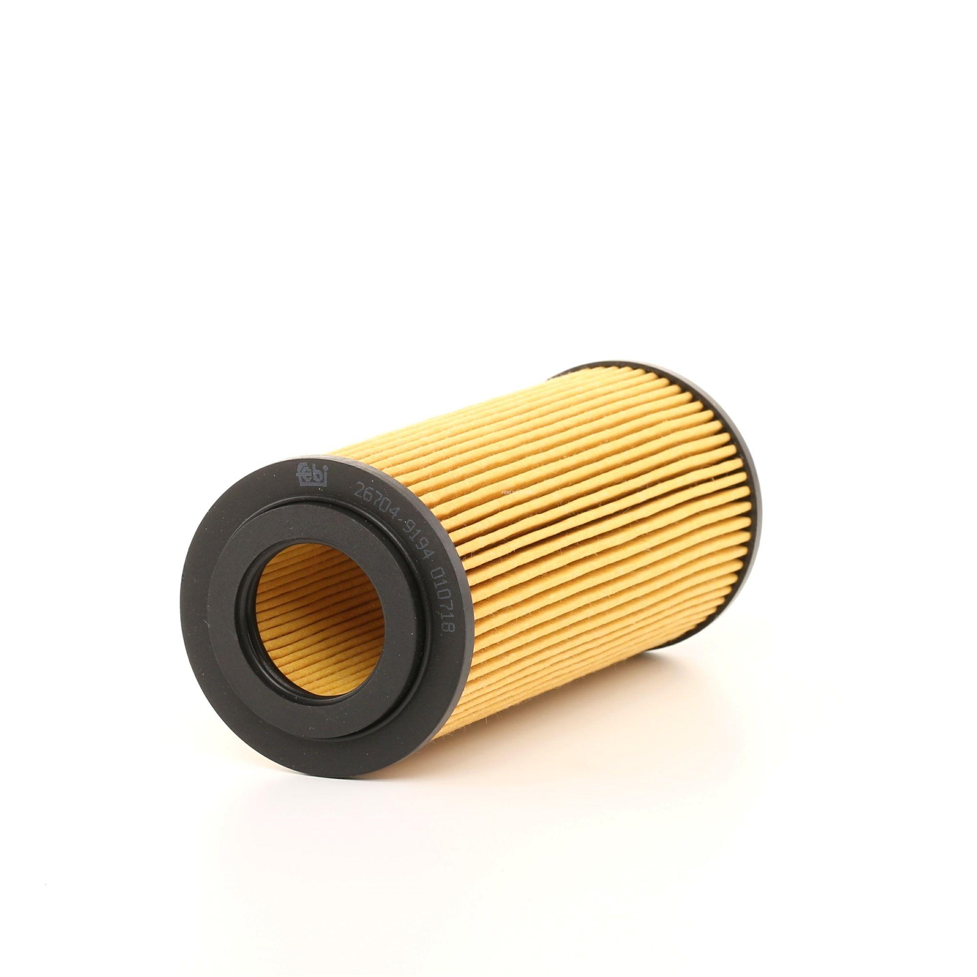 26704 FEBI BILSTEIN Filtereinsatz, mit Einspritzventil Innendurchmesser: 31,5mm, Ø: 65,0mm, Höhe: 154mm Ölfilter 26704 günstig kaufen