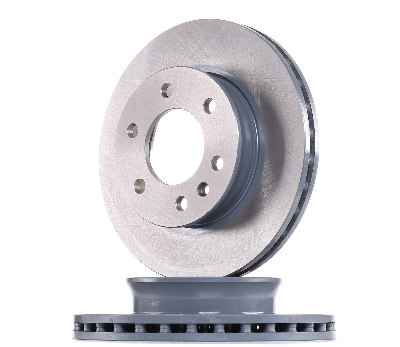 VW Disques de frein d'Origine 27698