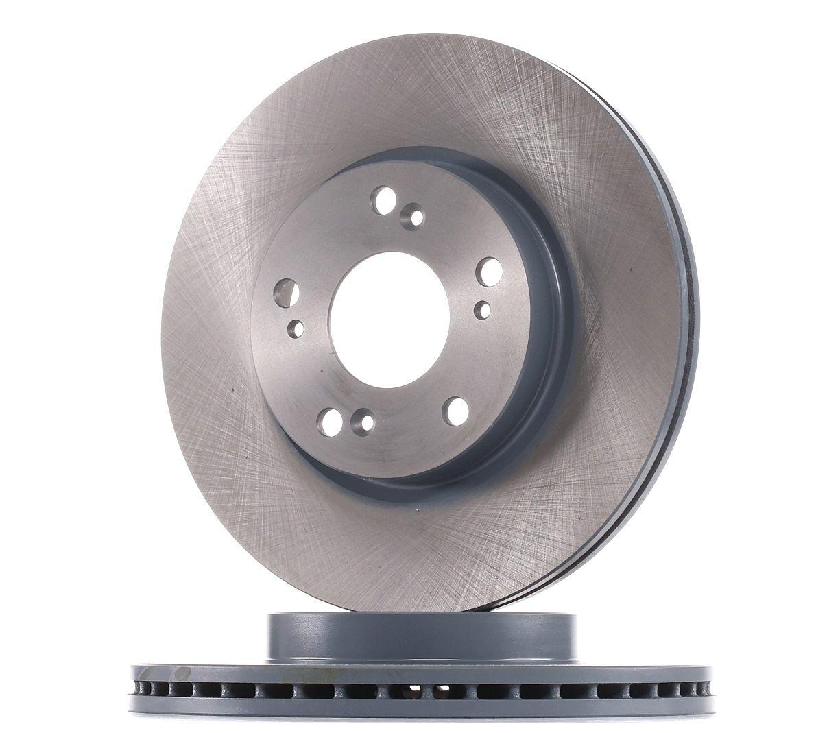 31399 FEBI BILSTEIN Front Axle, Internally Vented, Coated Ø: 282,0mm, Brake Disc Thickness: 23mm Brake Disc 31399 cheap
