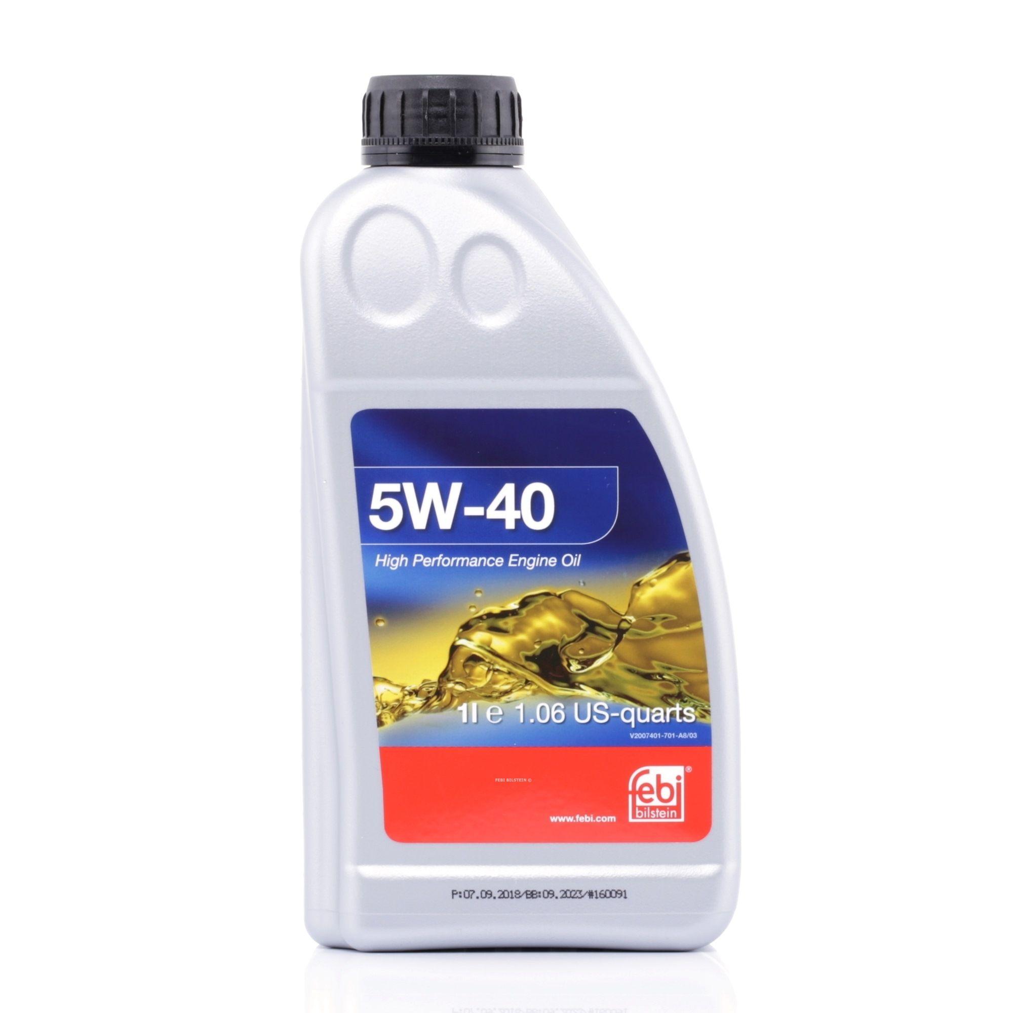 VW50500 FEBI BILSTEIN 5W-40, 1l, Synthetiköl Motoröl 32936 günstig kaufen