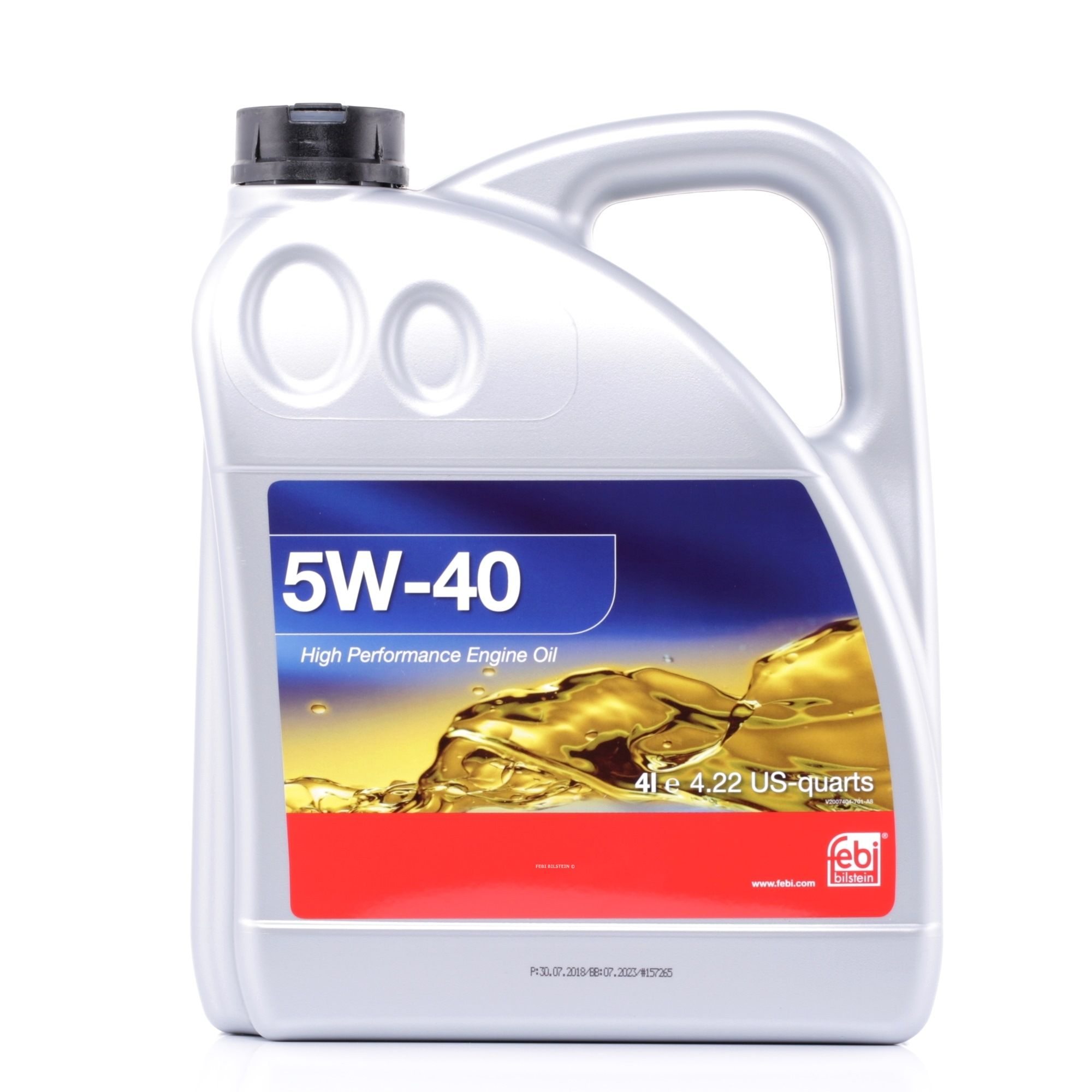 VW50500 FEBI BILSTEIN 5W-40, 4l, Synthetiköl Motoröl 32937 günstig kaufen