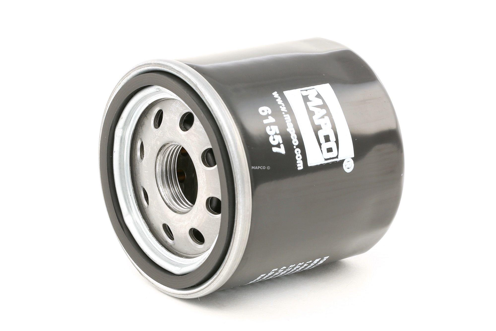 MAPCO: Original Motorölfilter 61557 (Innendurchmesser: 54mm, Ø: 66mm, Außendurchmesser 2: 62mm, Höhe: 65mm)