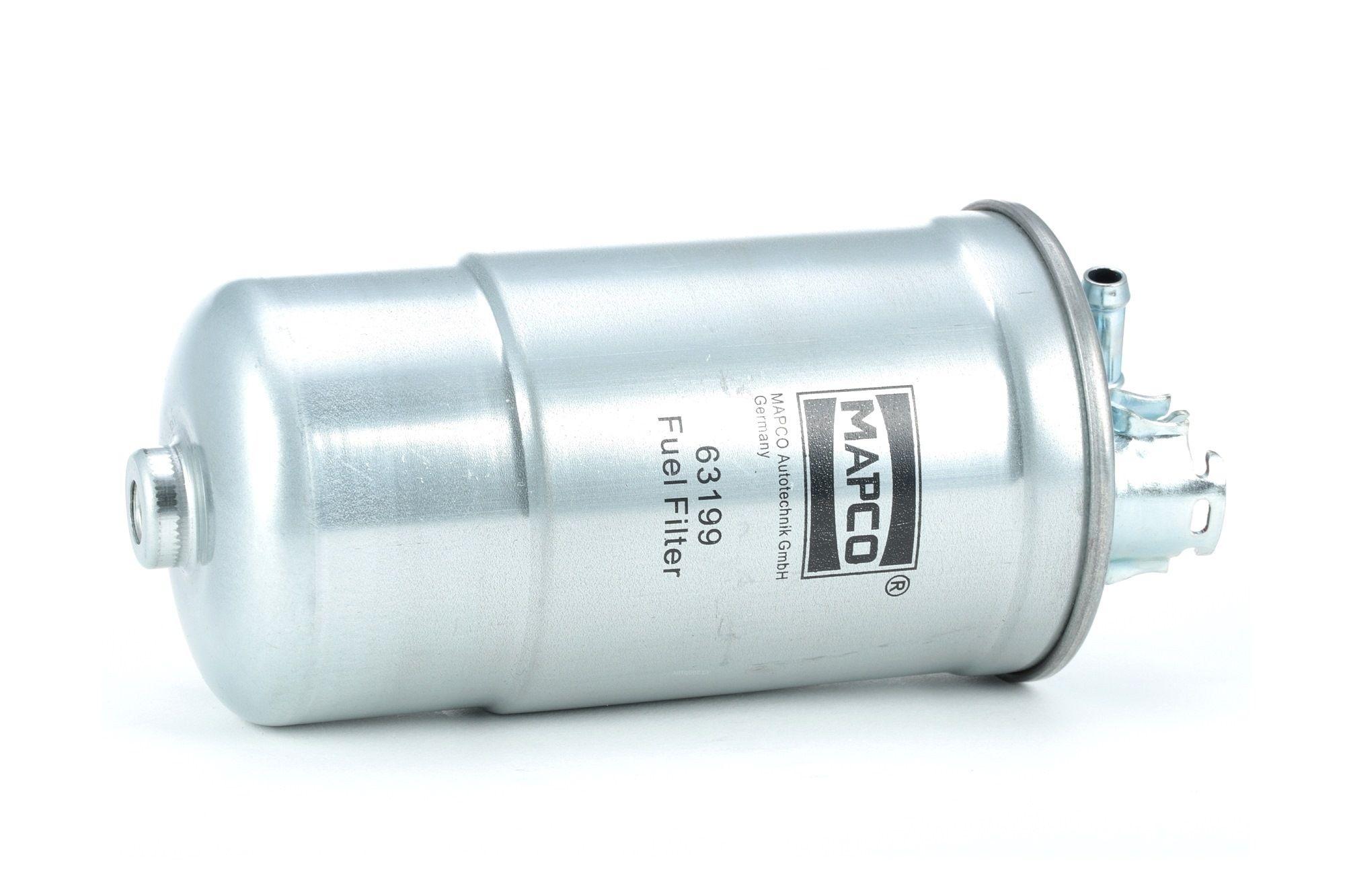 Osta 63199 MAPCO Ühendusfilter, Diisel Kõrgus: 176,5mm Kütusefilter 63199 madala hinnaga