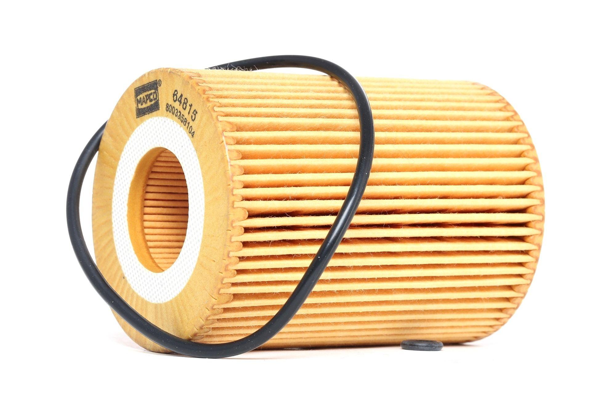 64815 MAPCO Filtereinsatz Innendurchmesser: 31mm, Ø: 72mm, Höhe: 95mm Ölfilter 64815 günstig kaufen