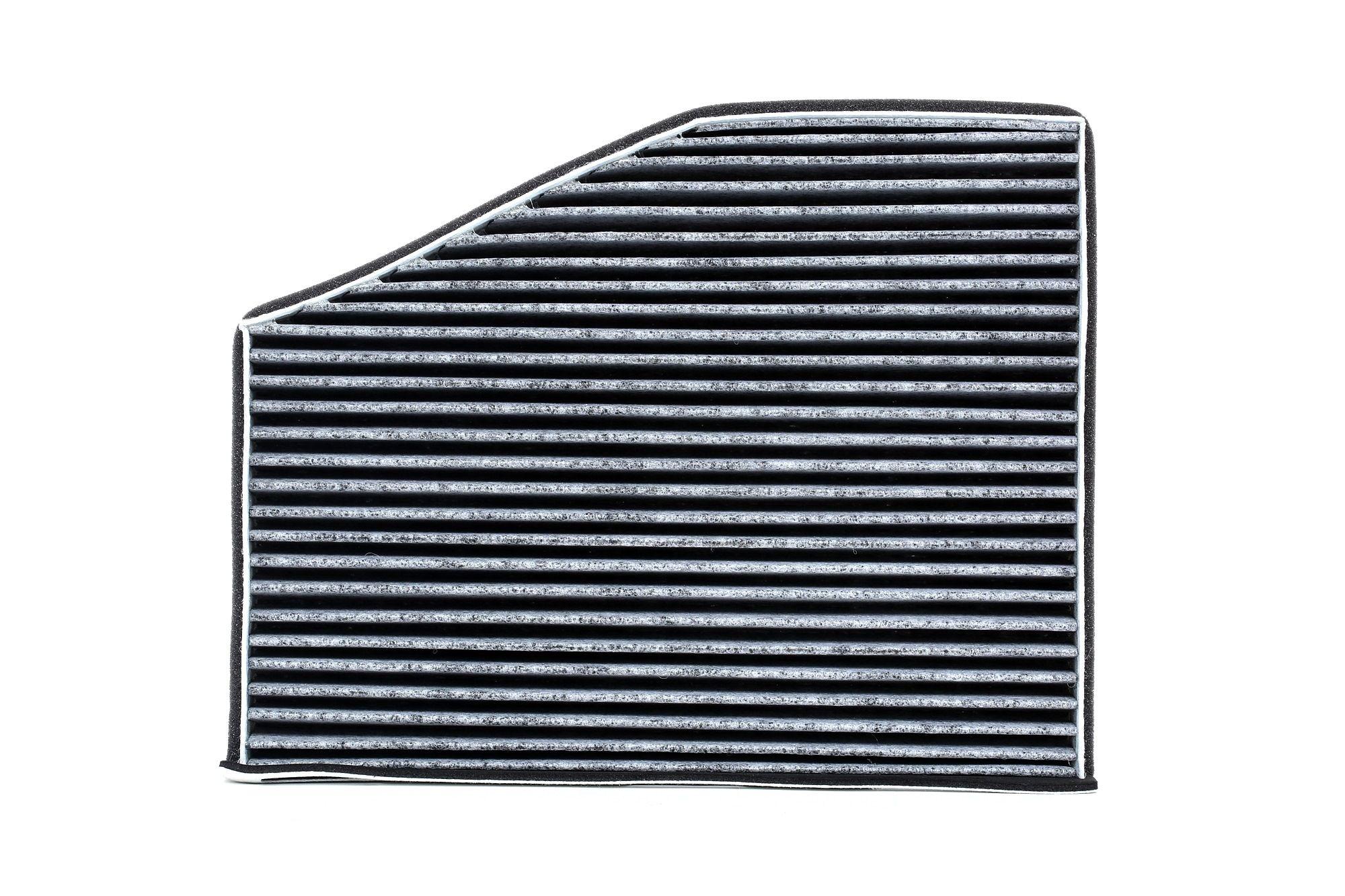 67801 MAPCO Aktivkohlefilter Breite: 215mm, Höhe: 34mm, Länge: 287mm Filter, Innenraumluft 67801 günstig kaufen