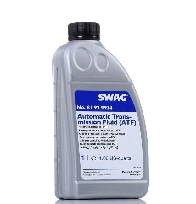 Масла и специални течности 81 92 9934 с добро SWAG съотношение цена-качество